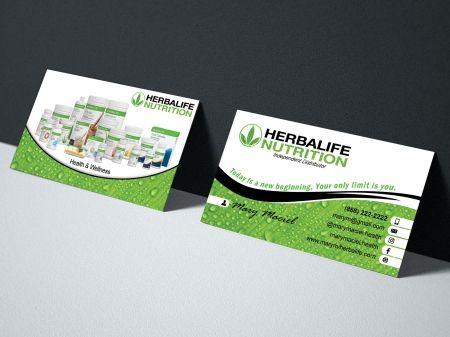 Herbalife Business Card Herbalife Business Cards Herbalife Business Herbalife