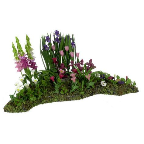 Miniature Corner Flower Bed