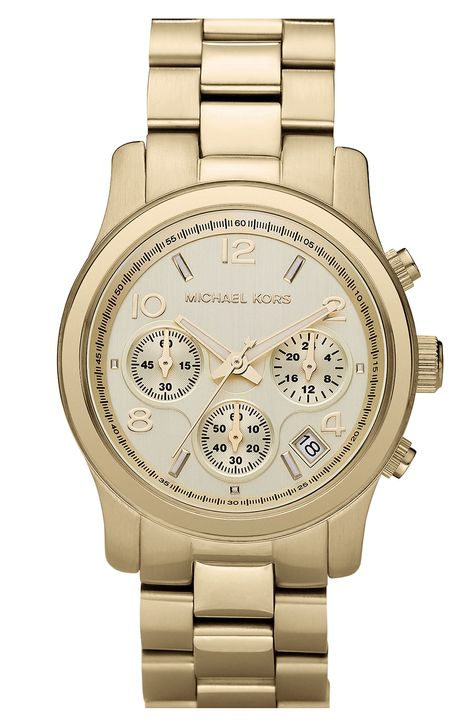 3fa2a4b9fa96 Free shipping and returns on Michael Kors  Runway  Chronograph Watch ...