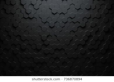 Black Triangular Abstract Background Grunge Surface 3d Rendering