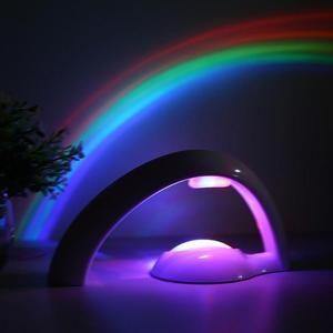 Rainbow Magic Lamp Kids Night Lights Rainbow Night Light Night