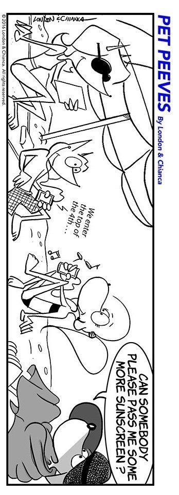 Strand comic schwarz weiß  67 besten Pet Peeves Comic Strips Bilder auf Pinterest   Comic ...