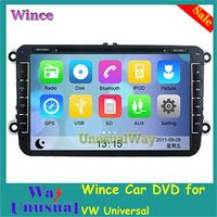 New Wince 6.0 Car DVD Player for VW GOLF(MK6)(2009-2011) GOLF(MK5)(2003-2009) POLO(MK5)(2010-2010) PASSAT(MK7) (MK6)(2006-2009)