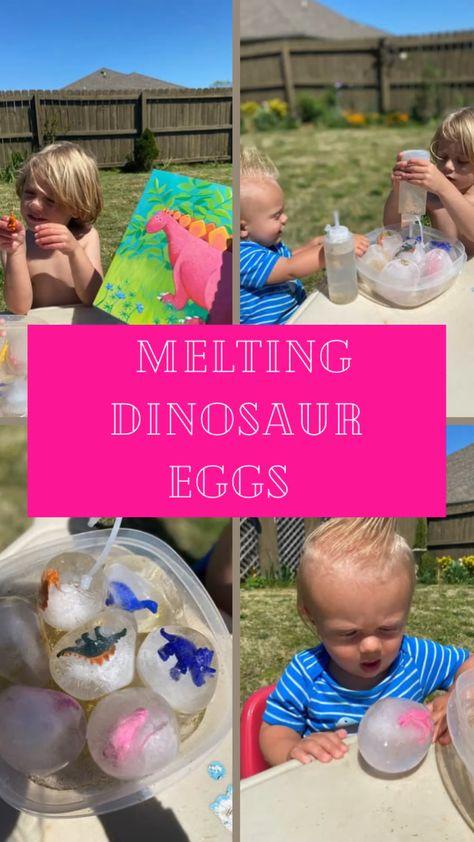 Melting Dinosaur Eggs for Speech and Language Development