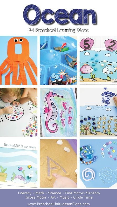 Preschool Ocean Themed Lesson Plans That Is Packed With Hands On