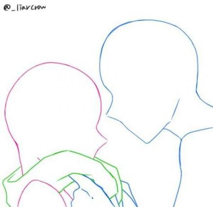 Drawing Couple Poses Art Reference Cartoon 31 Ideas Drawing Couple Poses Drawing Reference Poses Drawing Reference