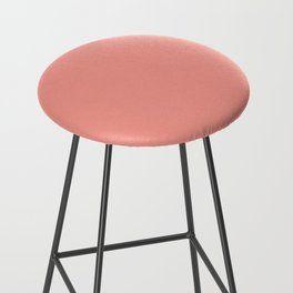 Phenomenal Solid Peach Bar Stool Stools By Thom Thali Stool Creativecarmelina Interior Chair Design Creativecarmelinacom