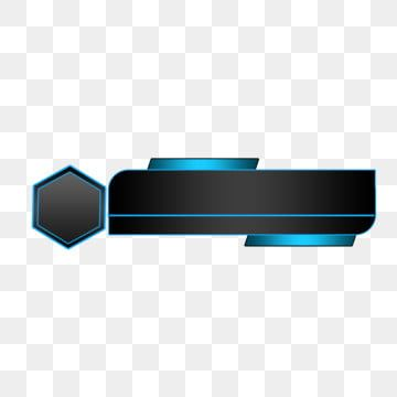 Hexagonal Style Lower Third Banner Lower Third News Video Png Transparent Clipart Image And Psd File For Free Download Lower Thirds Graphic Design Background Templates Creative Banners