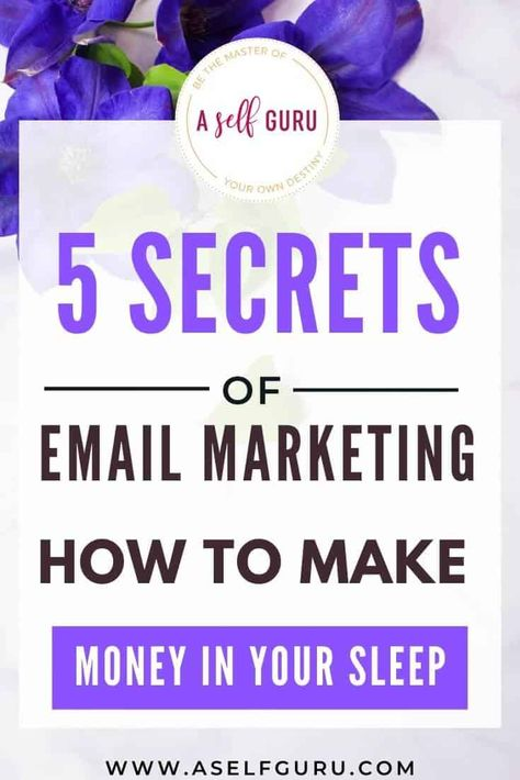 Top 5 Secrets of Email Marketing: How to Make Money While You Sleep