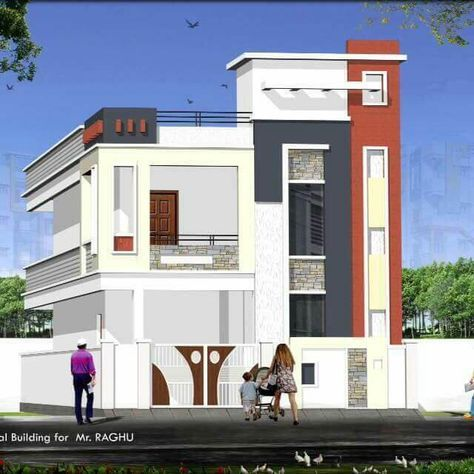 Quality Houses In Hyderabad Small House Elevation Design Duplex House Design Architectural House Plans Small house indian style