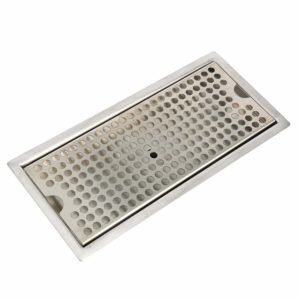 12 Flush Mount Stainless Steel Drip Tray W Drain 33 99 Free Shipping Drip Tray Flush Mount Beer Drip Tray