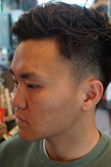 Jill原宿 美容室 ヘアスタイル ヘアサロン 髪型 メンズヘア メンズカット ショートヘア 刈り上げ バリカンヘア パーマヘア ナチュラルパーマ Harajuku Fashion Pearl Earrings