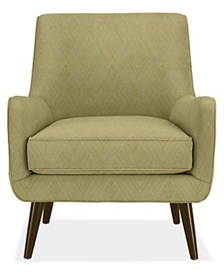 Quinn Chair In Gem Moss Chairs Living Seating Room Board