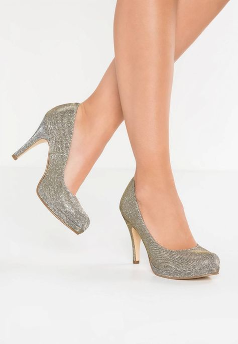 Tamaris High Heel Pumps platinum glam Zalando.ch