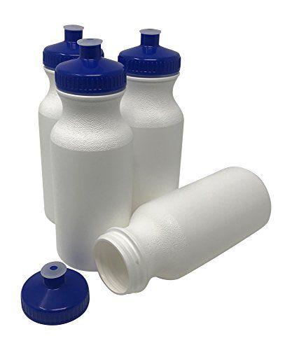 Csbd Sport Water Bottle 4 Pack Bpa Free Pet And Hdpe Plastic Made In Usa Bulk Multiple Colors Sizes Available Feedlinks Net Global Site Bottle Bpa Plastic Hdpe Plastic