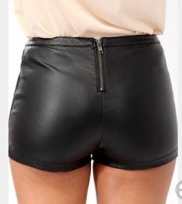 Miscellaneous Leather 116 Leather Hotpants And Shorts Leather Shorts High Shorts High Waisted Shorts