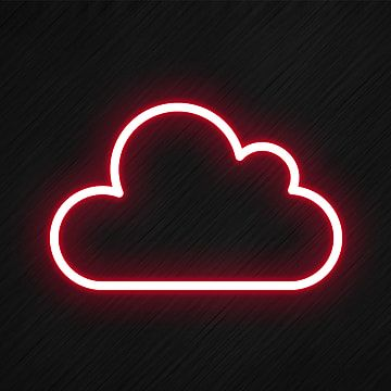Cloud Icon In Neon Style Cloud Icons Style Icons Neon Icons Png Transparent Clipart Image And Psd File For Free Download In 2020 Wallpaper Iphone Neon Light Icon Cloud Icon