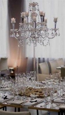 Table Top Candelabra Centrepiece Would Be Stupidly Expensive But Is Absolutely Gorgeous Wedding