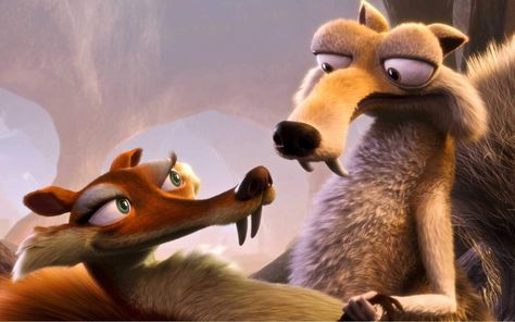 HD wallpaper: Ice Age, Scrat, Scratte, Ice Age: Dawn of the Dinosaurs, animated movies