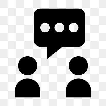 Conversation Glyph Icon Vector Conversation Icons Conversation Talking Png And Vector With Transparent Background For Free Download In 2020 Free Vector Graphics Glyph Icon Background Banner