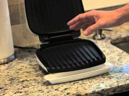 How To Clean A George Foreman Grill Without Using Any Elbow Grease Mac And Cheese How To Clean Bbq Grilling