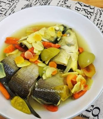 Garang Asam Bandeng Resep Masakan Resep Makanan Resep Makanan Sehat