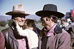 John Wayne and Patrick Wayne in Big Jake (1971) | John wayne ...