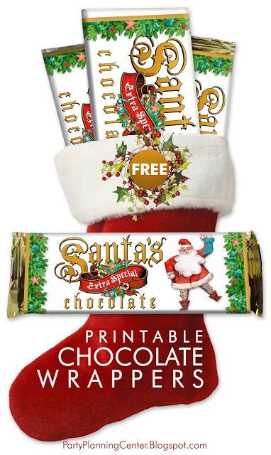 Free Christmas Gifts 2020 FREE Printable Christmas Chocolate Wrappers in 2020 | Affordable
