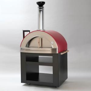 Necessories Nonno Peppe 32 In Wood Burning Outdoor Pizza