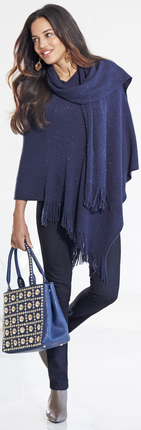 Ponchos and capes - top trends for fall and winter - http://www.boomerinas.com/2013/08/25/top-20-trends-for-fall-2013-the-good-the-bad-and-the-ugly/