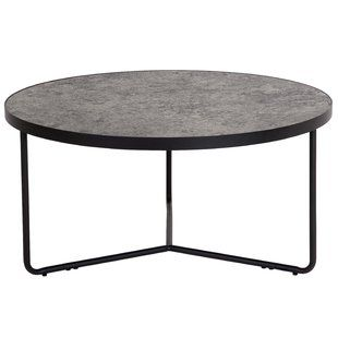 Round Coffee Tables You Ll Love Wayfair Concrete Coffee Table Coffee Table Metal Chairs