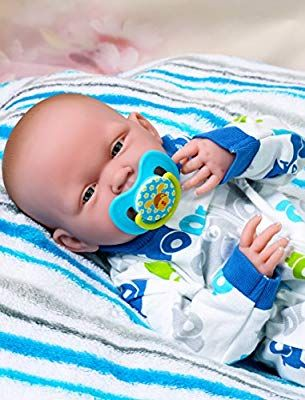 "Baby Boy Crying Doll Berenguer 14/"" inch Real Alive Soft Vinyl Preemie LifeLike"