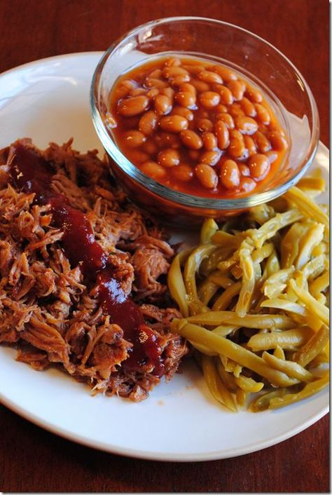BBQ Pulled Pork (Crock Pot Recipe!) - We had this for dinner tonight... Totally delish!! (I may have added a little/lot of extra BBQ) :)