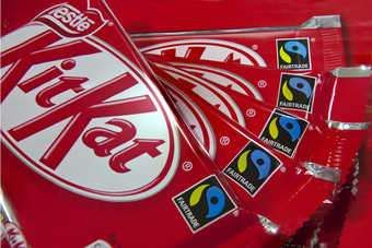 Nestle, Mondelez International and Unilever have said they will make changes to their products to try to cut the amount of saturated fat consumed in the UK: