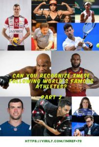 Can You Recognize These Following Worlds Famous Athletes SPORTS QUIZ Part 2