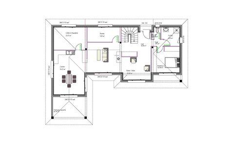 37 Best 1 Maison Plan Images On Pinterest | House Design, Flat Roof And  Floor Plans