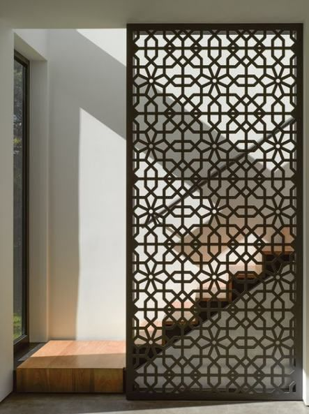 Metal Screen Wall Ideas 42 New Ideas In 2020 Room Partition Designs Room Divider Walls Partition Design