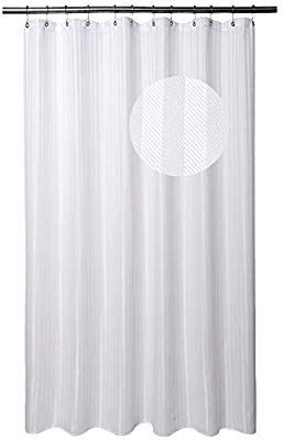 Amazon Com Extra Long Shower Curtain Fabric With 84 Inch Height