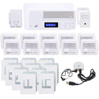 Intrasonic Retro Intercom System With Bluetooth Replaces Nutone 10 Room Retro Intercom System With Bluetooth Replaces Nuto Intercom Call System In Wall Speakers