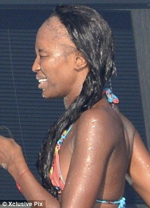 Do not let hairdressers sew in weaves too tightly or youll end up do not let hairdressers sew in weaves too tightly or youll end up with a hairline like naomi campbell just awful hairnailmakeup pinterest sew in pmusecretfo Gallery