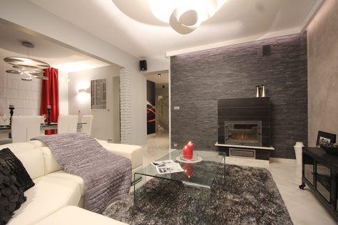 foornipl KAMIEŃ NATURALNY GREY, kamienna ściana w salonie - design ideen fur wohnungseinrichtung belgrad aleksandar savikin