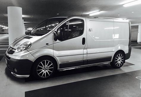 Opel Vivaro Tuning Minibus Commercial Wallpapers