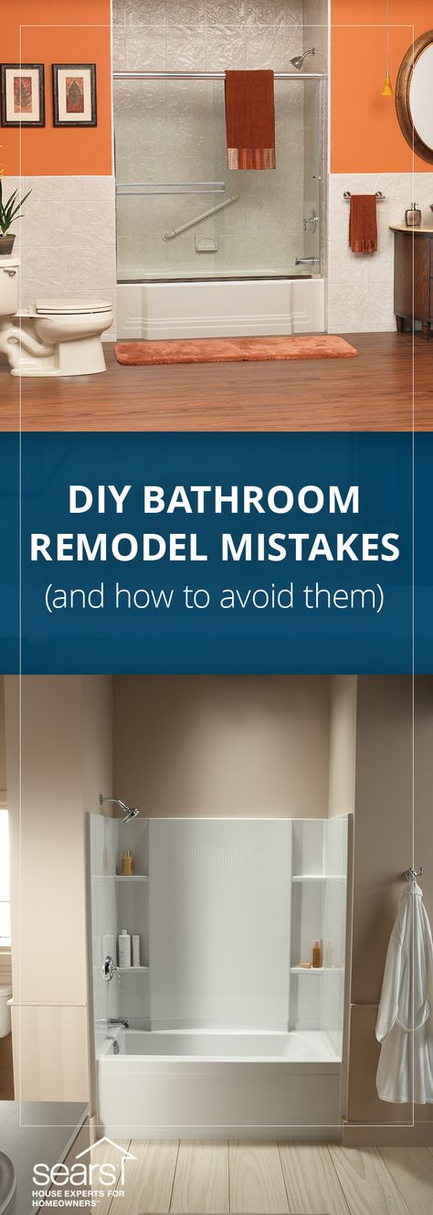 Diy Bathroom Remodel Mistakes And How To Avoid Them Don T Get