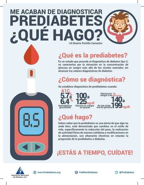 prediabetes valores empresariales