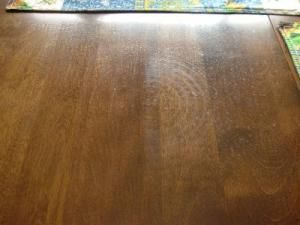 Removing Heat Marks From Furniture Cleaning Wood Wood Table Wood