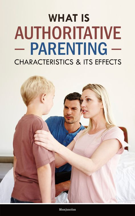 Authoritative Parenting Style - Characteristics And Effects
