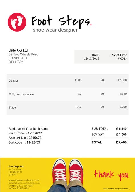 Pin By Albert On Creative Invoice Templates For Freelancers