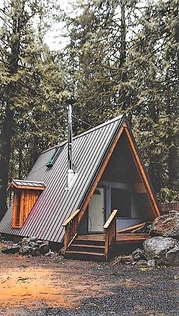 Simple A Frame Cabin Ets Tiny Cabins A Frame House Plans Building A Tiny House