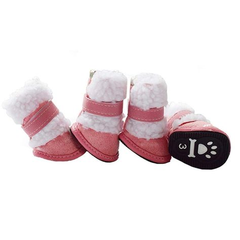 b1b0341d3 Small Size Dog Booties HP95(TM) Dog Winter Snow Boots Cute Pet Puppy ...