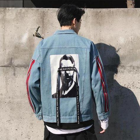 BLINDFOLDED Denim Jacket #JacketIdeas